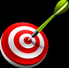 smart-goal-dart-target